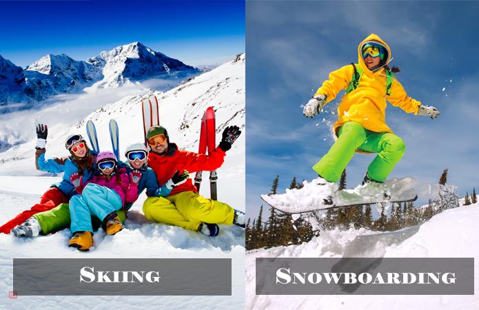 Go Snowboarding Or Skiing alaska