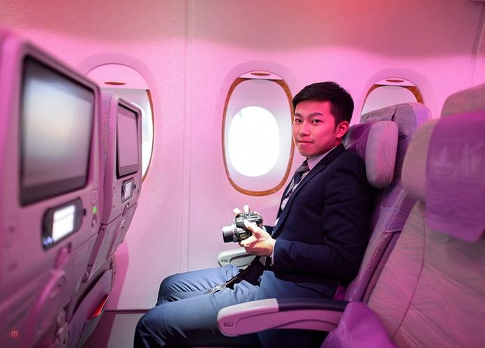 good plane seat