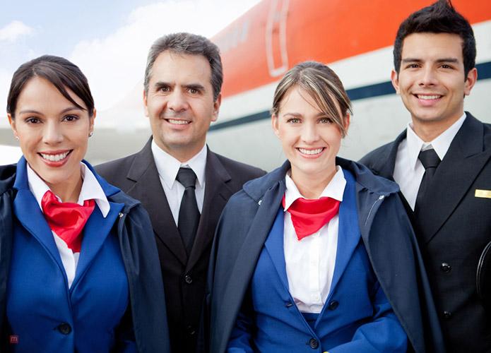 Wonderful Airline Crew