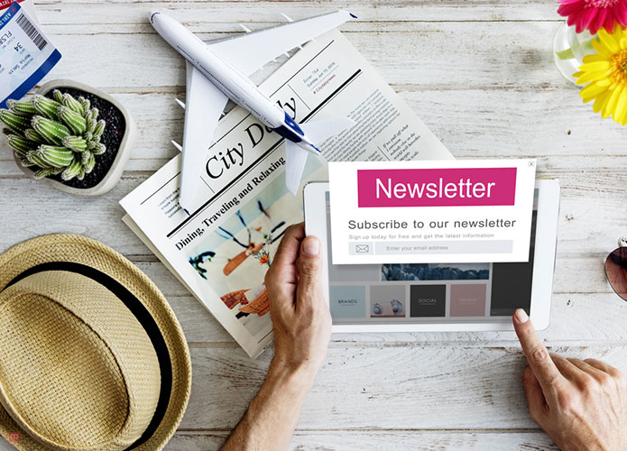 airline newsletters