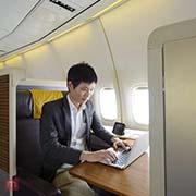 Singapore business class flights