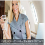 How To Fly Business For The Price Of Coach?